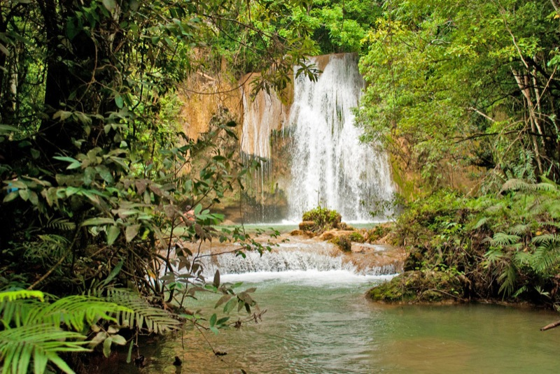 Samana Waterfall Cascada Limon